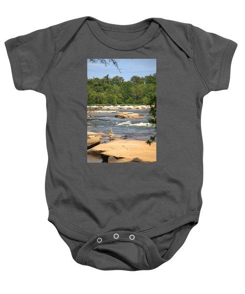 Unnatural Rock Formation Baby Onesie