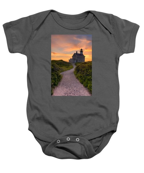 Up To The Light Baby Onesie