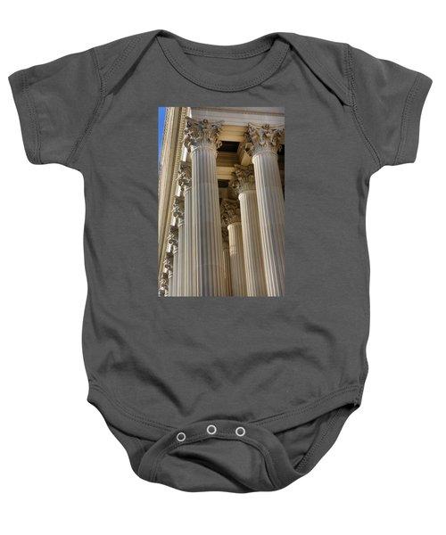 Us Archive Columns Baby Onesie