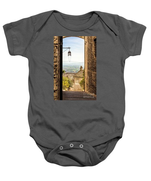 Valley Outside Assisi Baby Onesie
