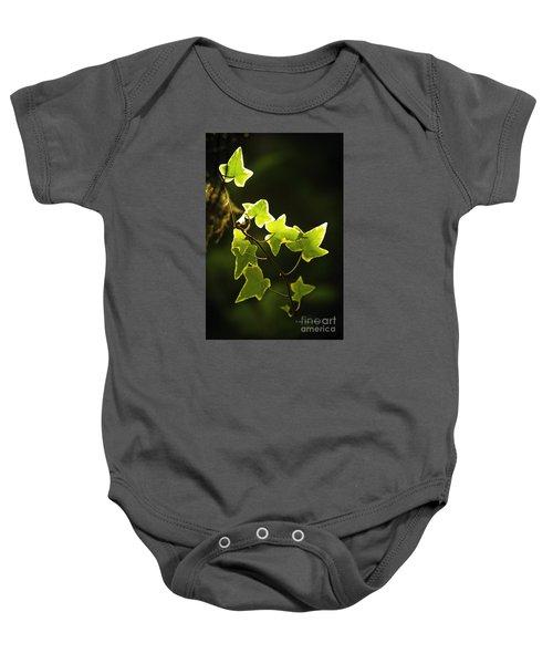Variegated Vine Baby Onesie
