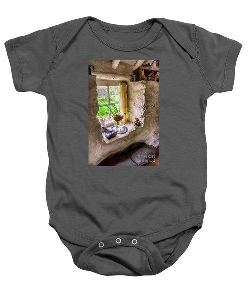 Victorian Window Baby Onesie
