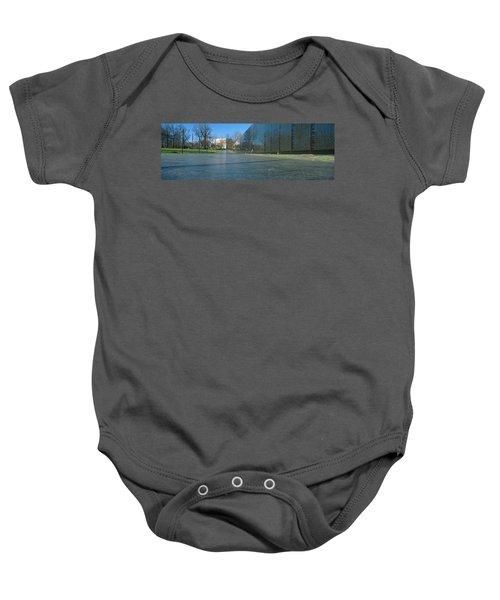 Vietnam Veterans Memorial, Washington Dc Baby Onesie