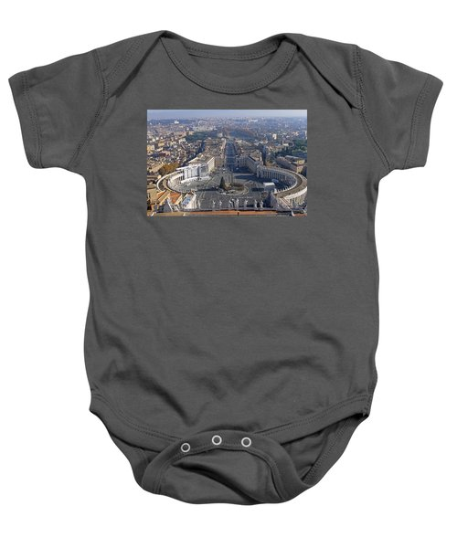 View From Dome Of St Peters Baby Onesie