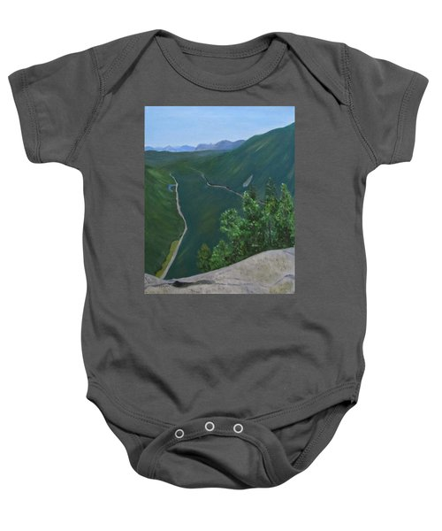 View From Mount Willard Baby Onesie