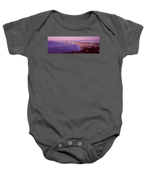 View Of Los Angeles Downtown Baby Onesie