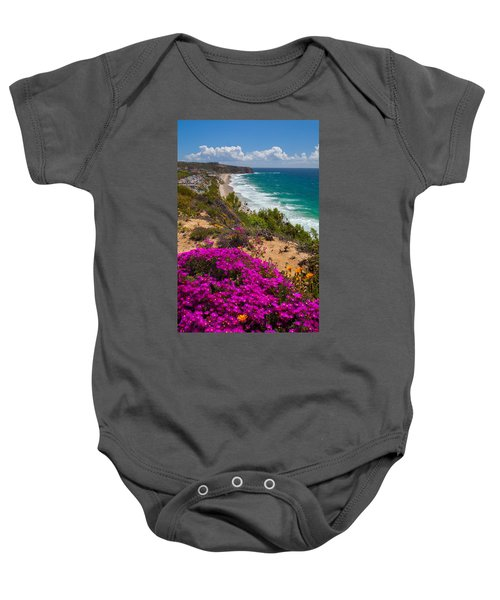 View Of Strand Beach And Dana Point Headland Baby Onesie