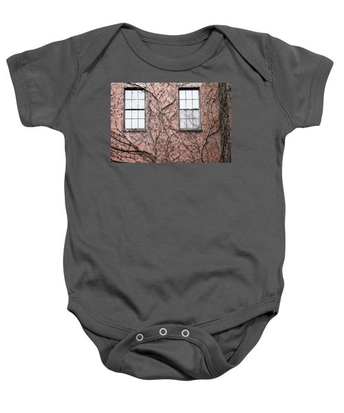 Vines And Brick Baby Onesie