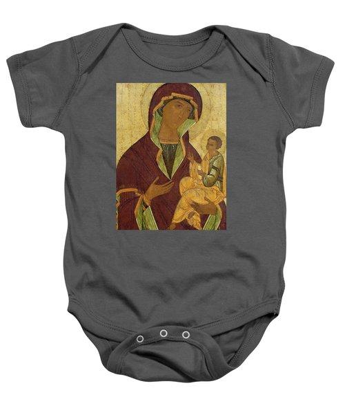 Virgin And Child Baby Onesie