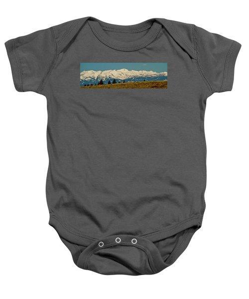 Wallowa Mountains Oregon Baby Onesie