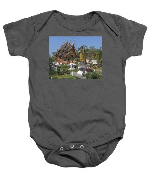 Wat Chedi Liem Phra Ubosot Dthcm0831 Baby Onesie