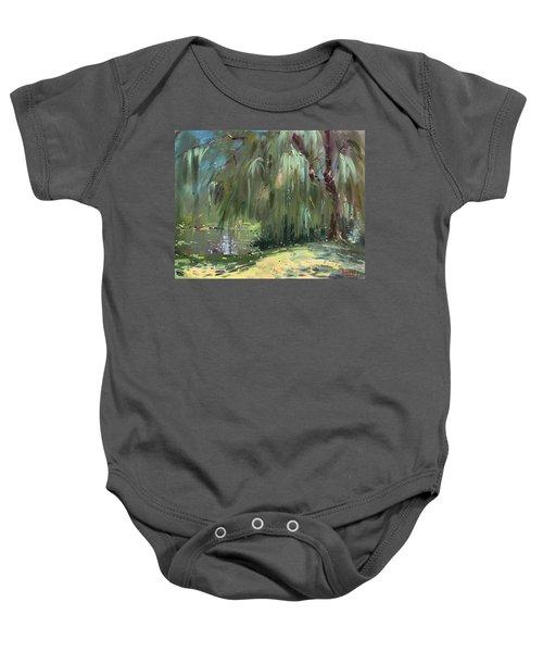 Weeping Willow Tree Baby Onesie