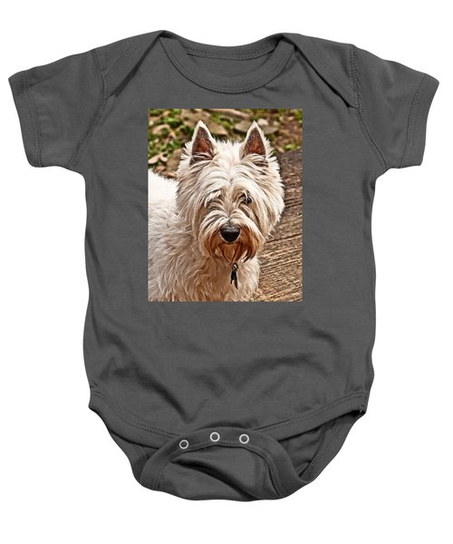 West Highland White Terrier Baby Onesie