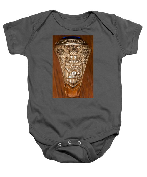 West Point Class Ring Baby Onesie