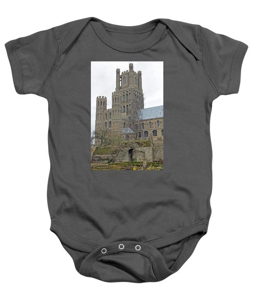 West Tower Of Ely Cathedral  Baby Onesie