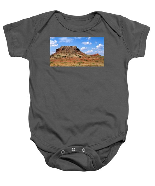 Lone Peak Mountain Baby Onesie