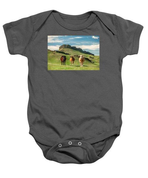 Western Longhorns Baby Onesie