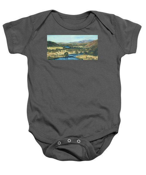 What A Dam Site Baby Onesie