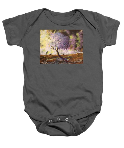 What Dreams May Come Spirit Tree Baby Onesie