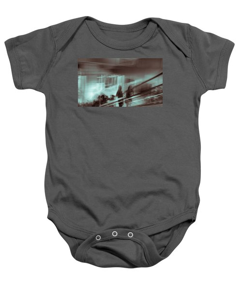 Baby Onesie featuring the photograph Why Walk When You Can Ride by Alex Lapidus
