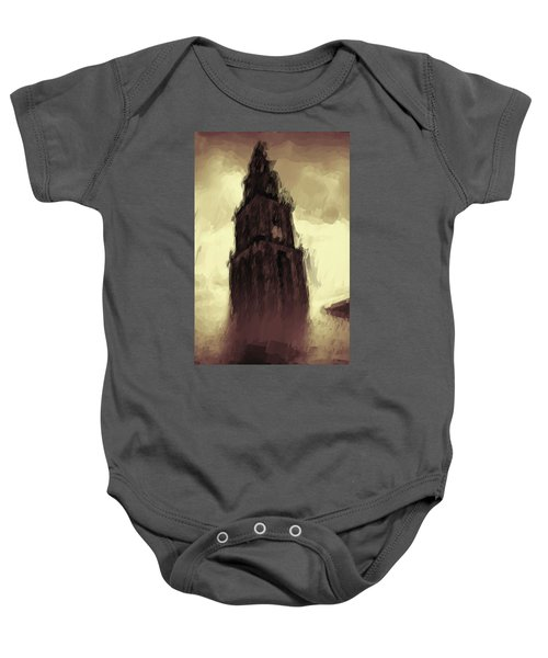 Wicked Tower Baby Onesie