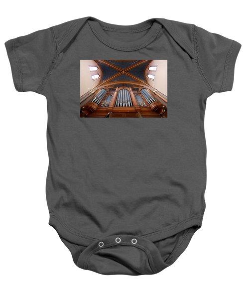 Wiesbaden Marktkirche Organ Baby Onesie