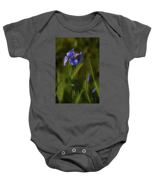 Wild Alaskan Iris Baby Onesie