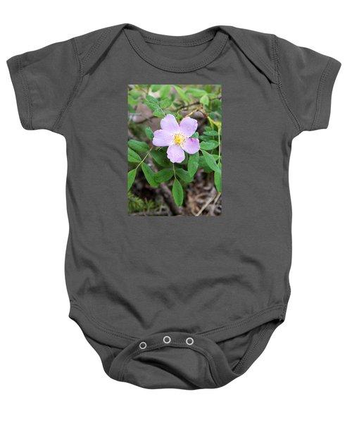 Wild Gentian Baby Onesie
