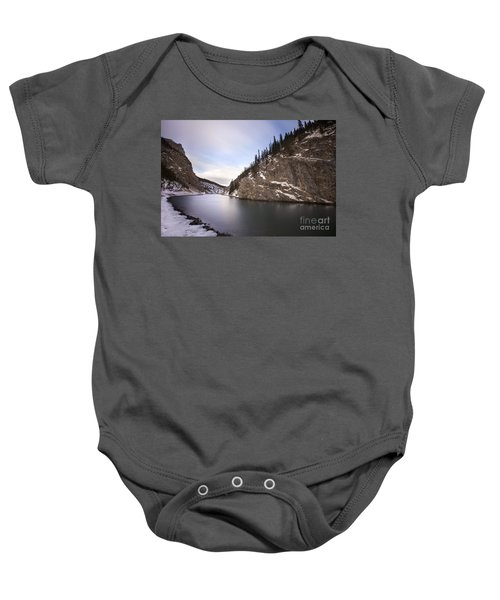 Winter Calm Baby Onesie