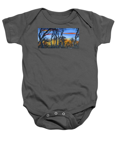 Wisconsin Creek Spooks Baby Onesie