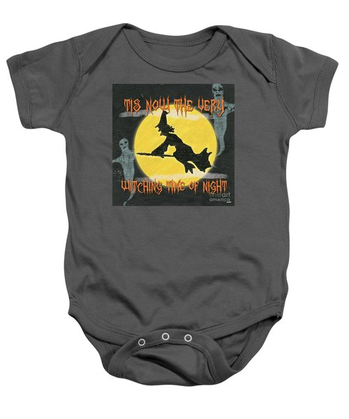 Witching Time Baby Onesie