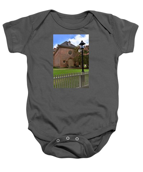Wren Chapel At William And Mary Baby Onesie