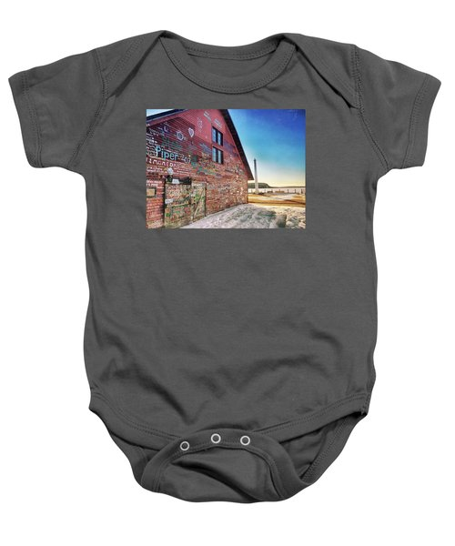 Writing On The Wall Baby Onesie