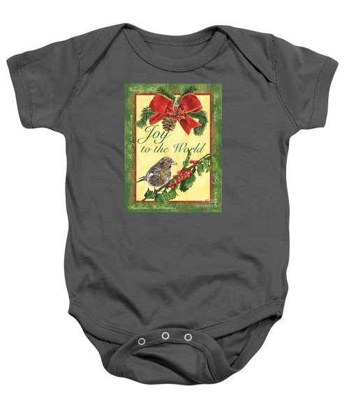 Xmas Around The World 2 Baby Onesie