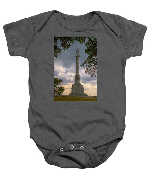 Yorktown Victory Monument Baby Onesie