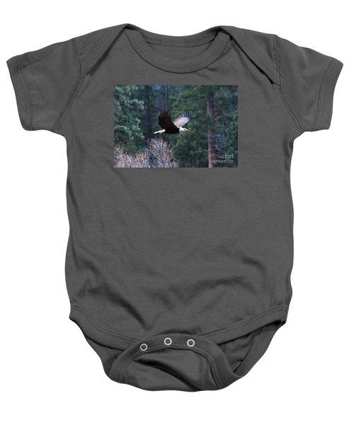 Yosemite Bald Eagle Baby Onesie