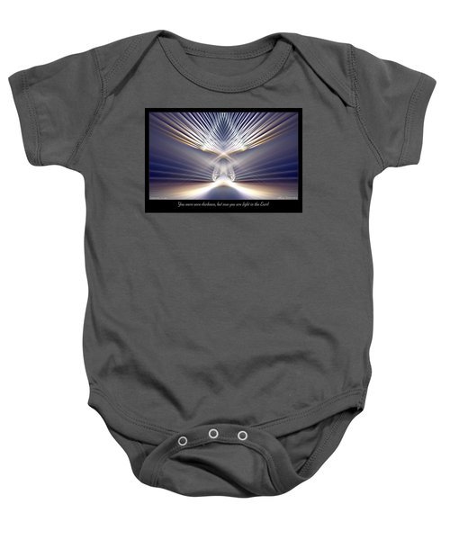 You Are Light Baby Onesie