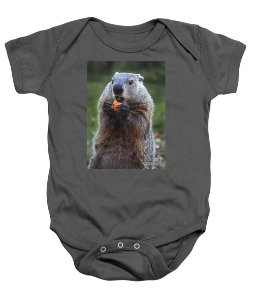 Yum-yum Baby Onesie by Paul W Faust -  Impressions of Light