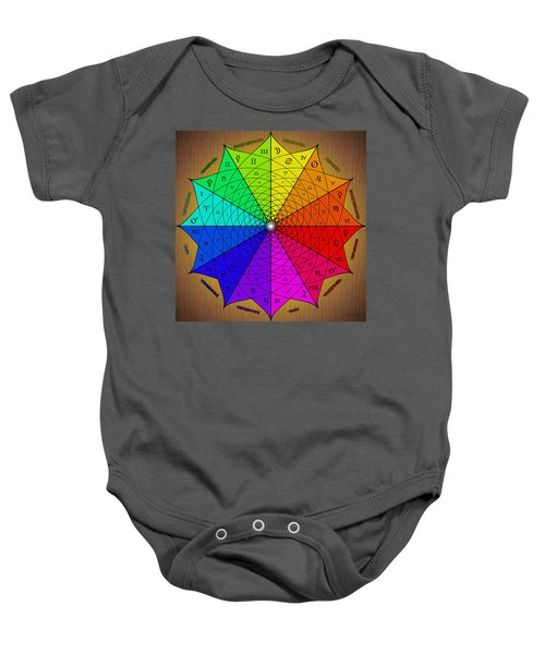 Zodiac Color Star Baby Onesie