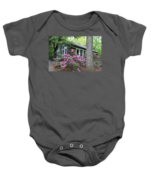 Little Brown Church In Spring Baby Onesie