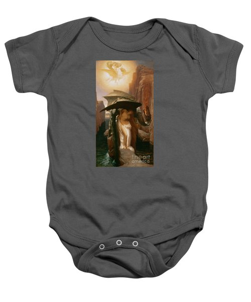 Perseus And Andromeda Baby Onesie by Frederic Leighton