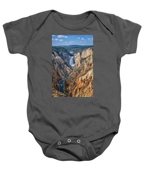 Yellowstone Lower Falls Baby Onesie