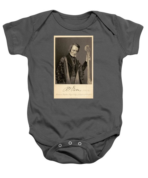 Richard Owen, English Paleontologist Baby Onesie