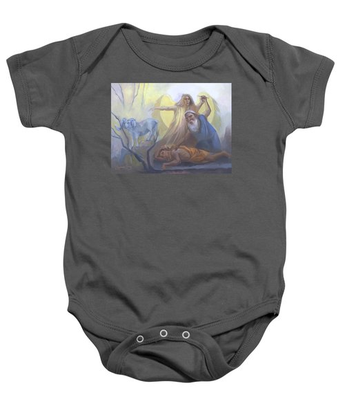 Abraham And Issac Test Of Abraham Baby Onesie