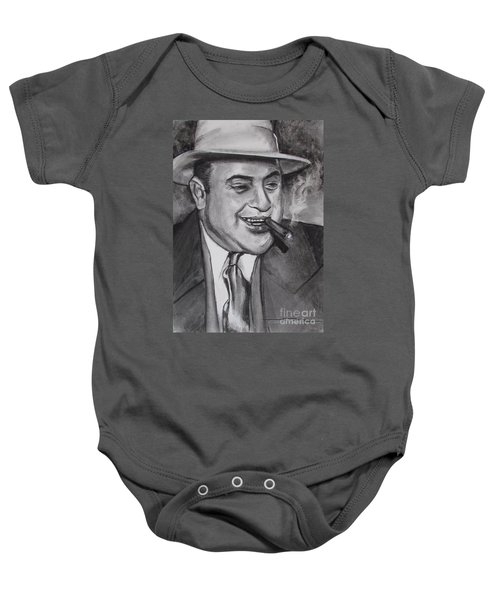Al Capone 0g Scarface Baby Onesie