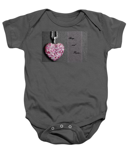Always And Forever Baby Onesie
