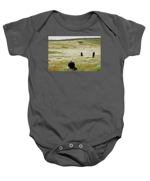 At Lachish's Magical Fields Baby Onesie