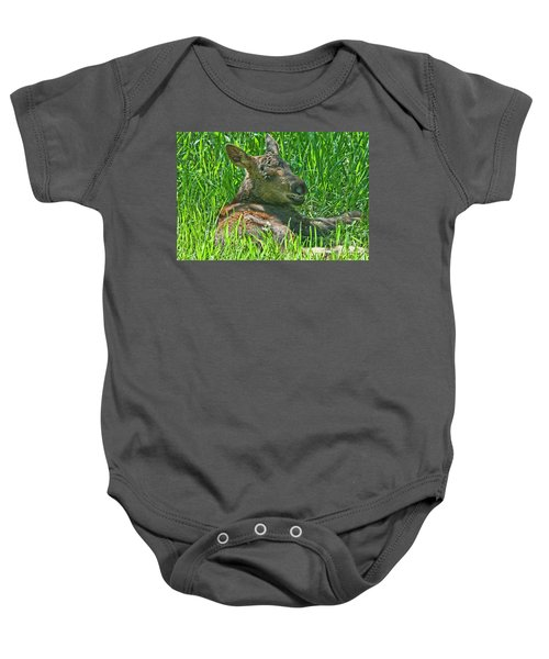 Baby Moose Baby Onesie