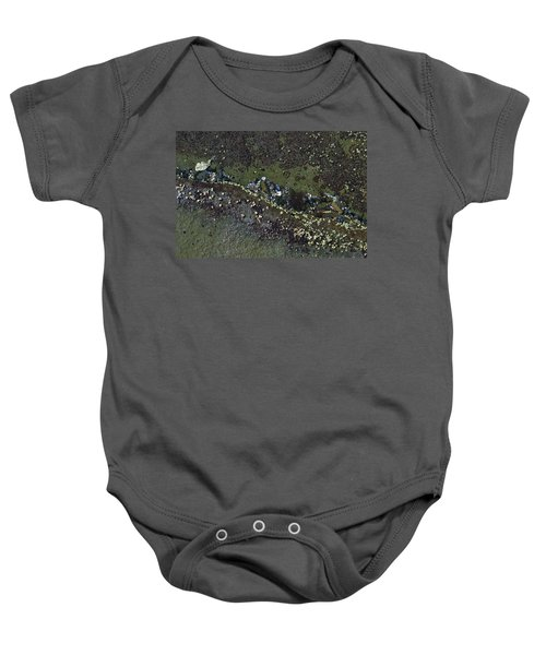 Barnacles And Seaweed Baby Onesie