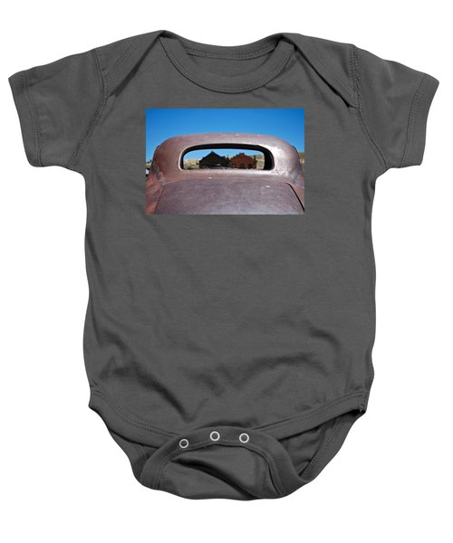 Baby Onesie featuring the photograph Bodie Ghost Town I - Old West by Shane Kelly